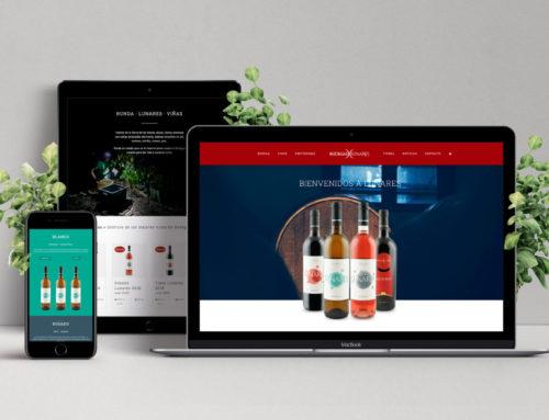 Bodegas Lunares estrena nueva web